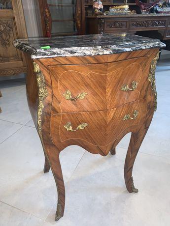 Przepiekna mala komoda stara z marmurowym blatem