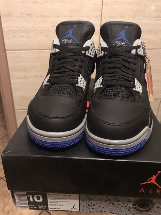 Air Jordan retro 4 motor sport alternate 2017 44 Stalowa Wola - image 1