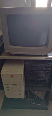 Computador 386 a funcionar