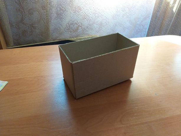 Картонная коробка четырехклапанная 20см*10см*11,5см