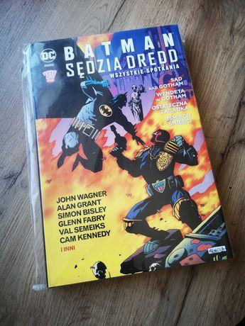 Batman - Sędzia Dredd - Wszystkie spotkania (Egmont)