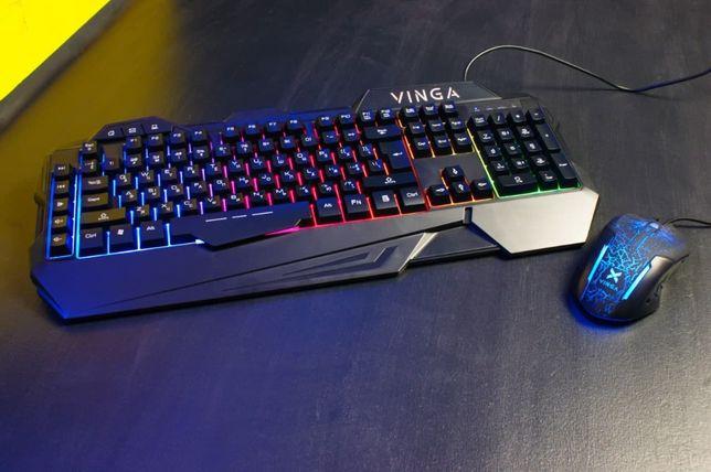 Игровой набор Клавиатура + Мышка Vinga