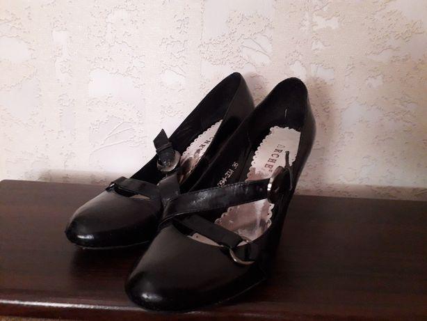 туфли, р 36 кожа