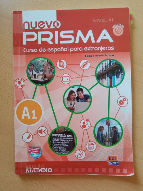 NUEVO PRISMA A1 podręcznik do j. hiszpańskiego