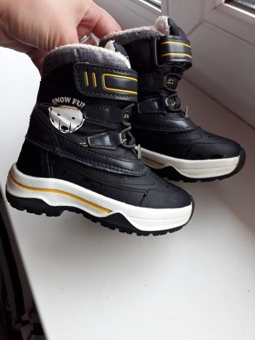 Зимние термо сапожки ботинки lupilu 21 размер Димитров - изображение 1