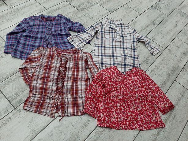 Koszule dla dziewczynki r. 98