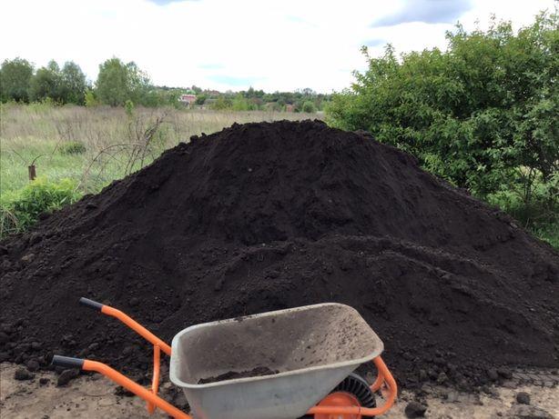 Чернозем плодородный,чернозем под газон