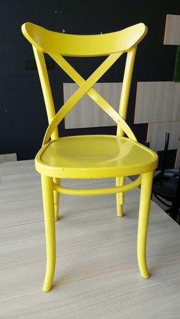 Krzesło klasyczne drewno kolor zółty AG-150P Radomsko