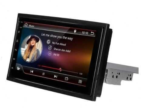 Radio 1 DIN Android ajustável – GPS WIFI Bluetooth ¬- Novo Garantia