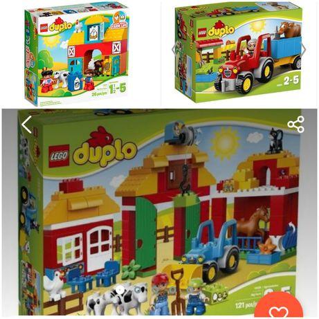 Lego duplo 10524, 10525 ферма 2 набора вместе