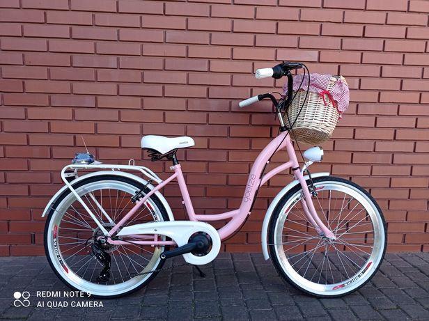 NOWE Rowery Goetze Mood 24 Shimano 6 biegów+kosz+wyściółka