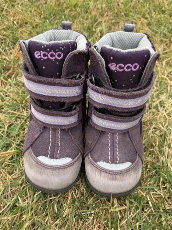 Зимние термо сапоги сапожки ботинки Ecco 21