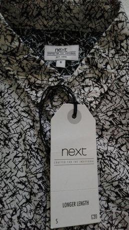 Nowa koszula męska Next r. S