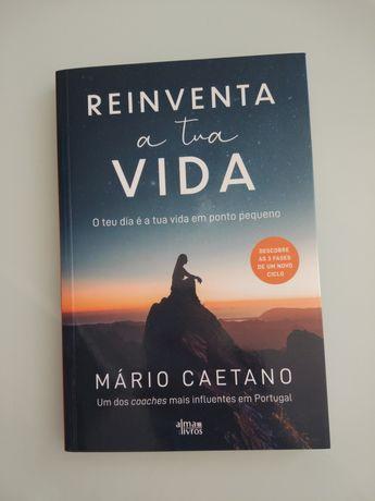 Livro Reinventa a tua vida NOVO