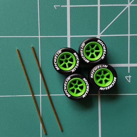 Zestaw kół do resoraków Hot Wheels, Matchbox i innych 1:64 1/64