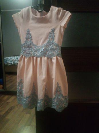 Piekna sukienka koronki