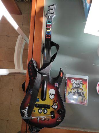 Guitarra hero com jogo!!