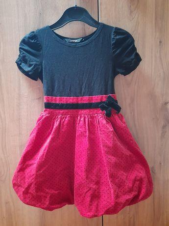 Sukienka na śwìęta 86-92cm + getry