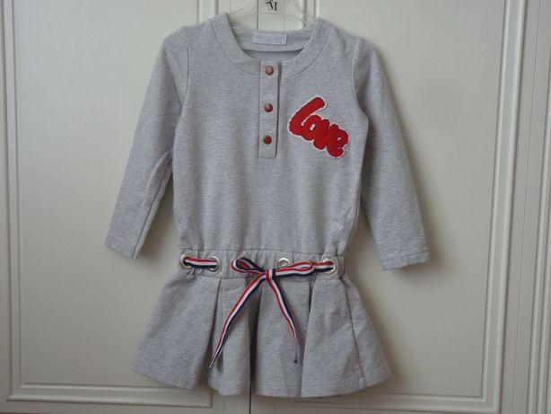 MałaMi sukienka tunika love 110-116