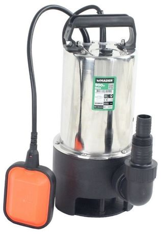 Bomba Submersível, Inox, 900W, 17000L/h - MADER® | Garden