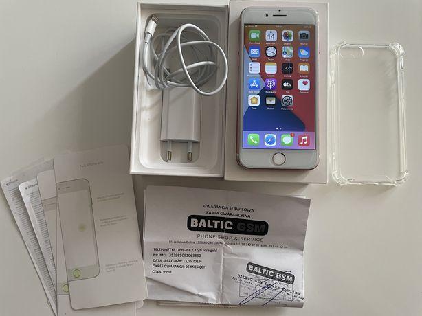 Iphone 7 32GB rose gold, bez simlocka, bateria 100%