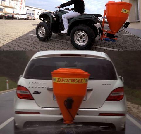 Posypywarka 100 L Solarka Na hak do samochodu auta wózka widłowego