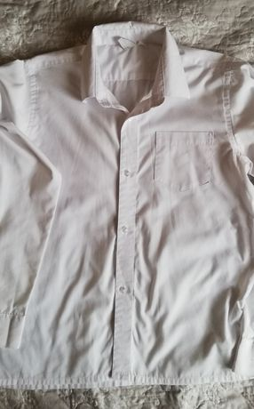 Koszula biała dla Chłopca 158cm
