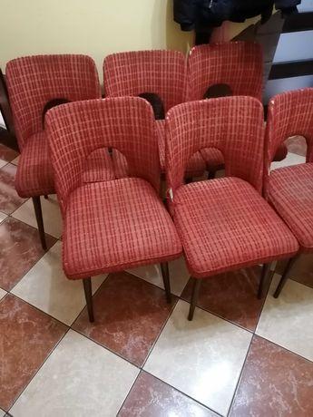 Krzesła muszelki 6 sztuk możliwy transport