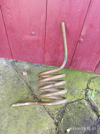Латунная труба, змеевик