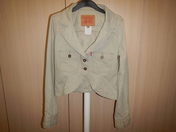 джинсовая куртка пиджак жакет Levis p.44(s)