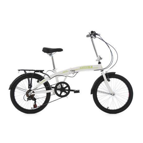 """Rower 20"""" składak składany Shimano"""