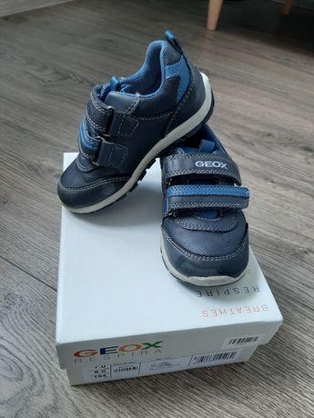 Geox respira buty chłopięce granatowe skórzane rozmiar 23 gwarancja