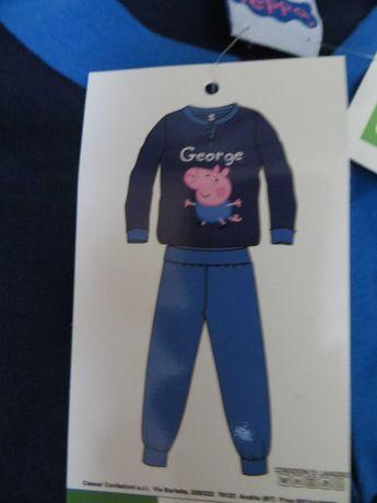 Пижама свинка пеппа на 7-8 лет