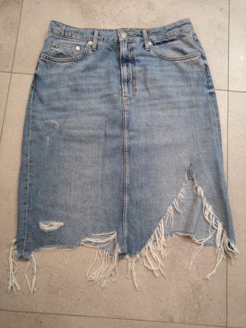 Spódnica jeansowa H&m r. 42