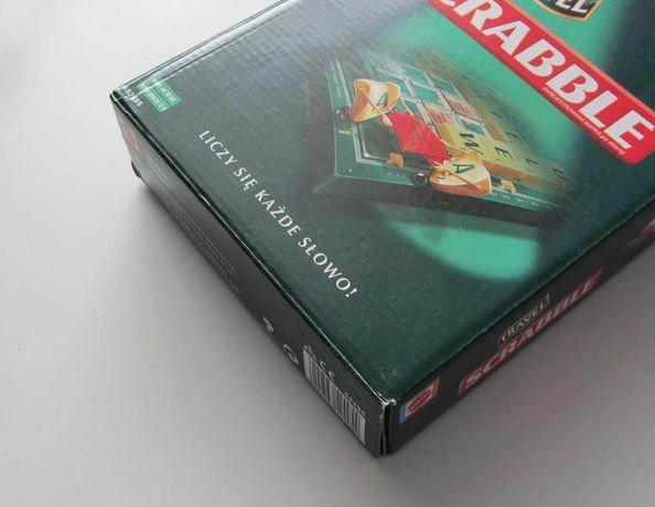 Gra Scrabble TRAVEL PL Deluxe podróżne polskie