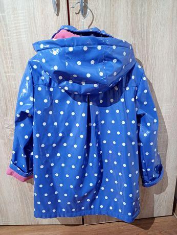 Płaszcz przeciwdeszczowy dla dziewczynki