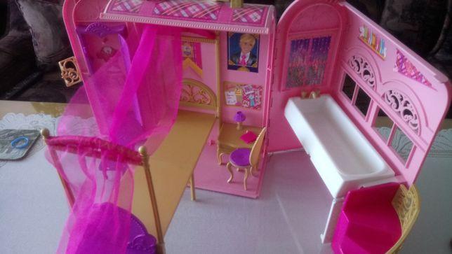 domek - walizka, duży , składany, zabawka