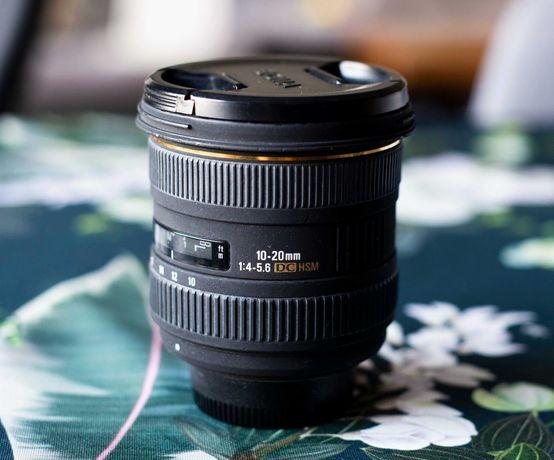 Sigma 10-20 mm f/4-5.6 EX DC HSM Nikon