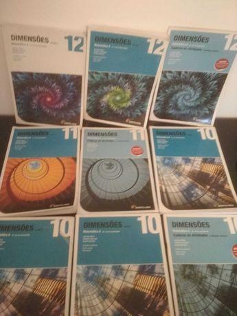 Manuais escolares - Matemática 10º/11º/12