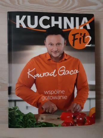 Książka- Kuchnia Fit 2 - Konrad Gaca - stan idealny