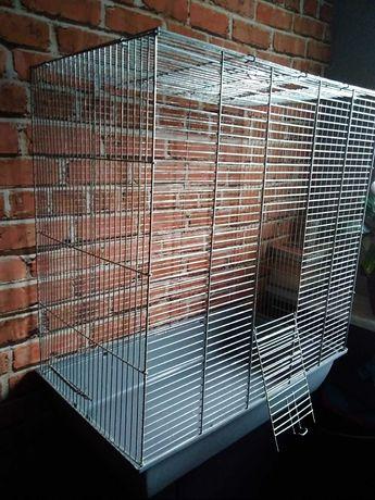 Duża klatka składana cynkowana na gryzonie i ptaki