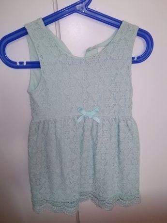 Sukienka koronkowa H&M 92/98