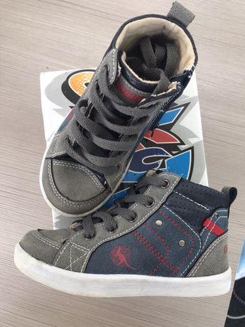 Кеди ботинки хайтопи kangoro