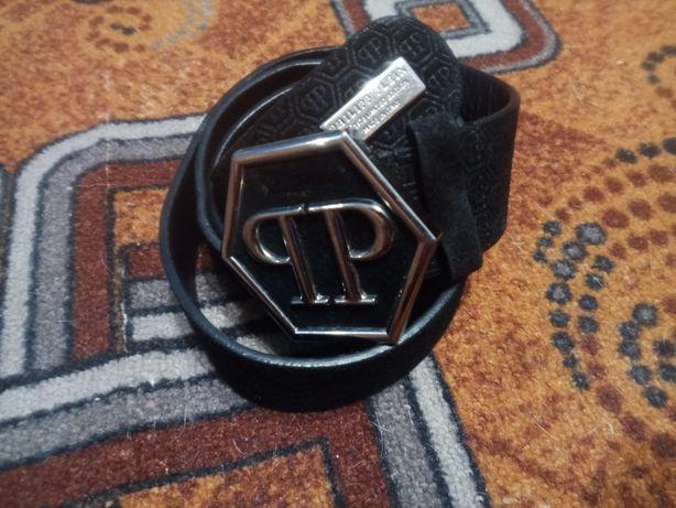 Мужской ремень Phillipp Plein Est.1978 Limited Edition made in Italy.
