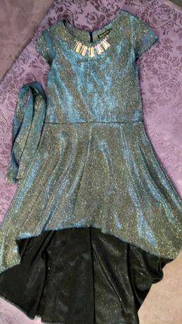 Красивое нарядное платье+ балеро