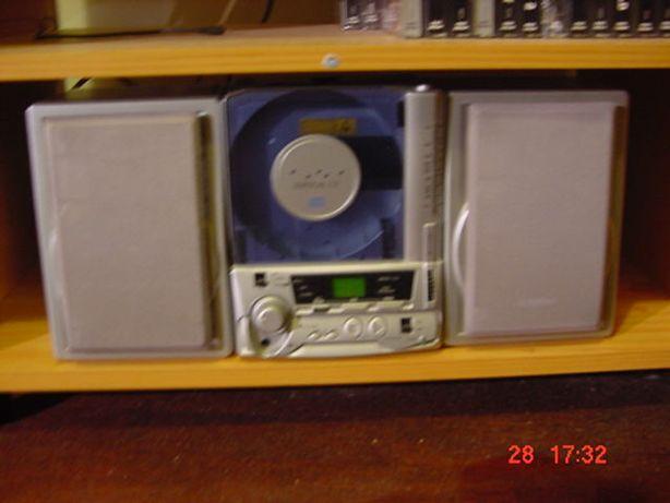 Aparelhagem com K7 e CD