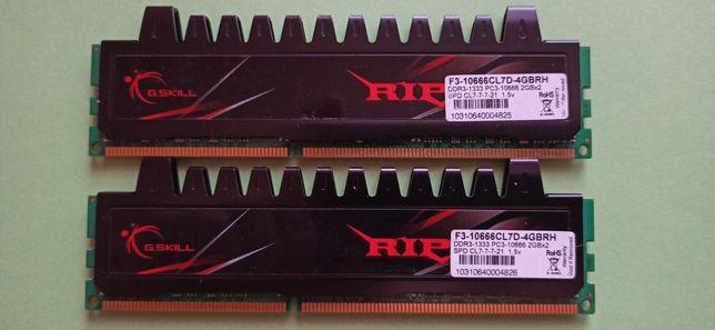 G-Skill Zestaw 2x2GB DDR3. Razem 4GB