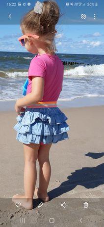 spódniczka krótka jensowa falbany 62cm smyk