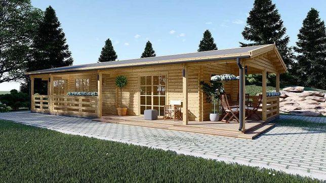 Casa de Madeira ABC 370 - T2, Pré-fabricada 82m2