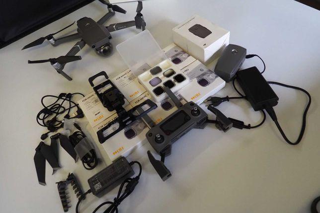 Dron DJI MAVIC 2 PRO - Mega zestaw - Zadbany
